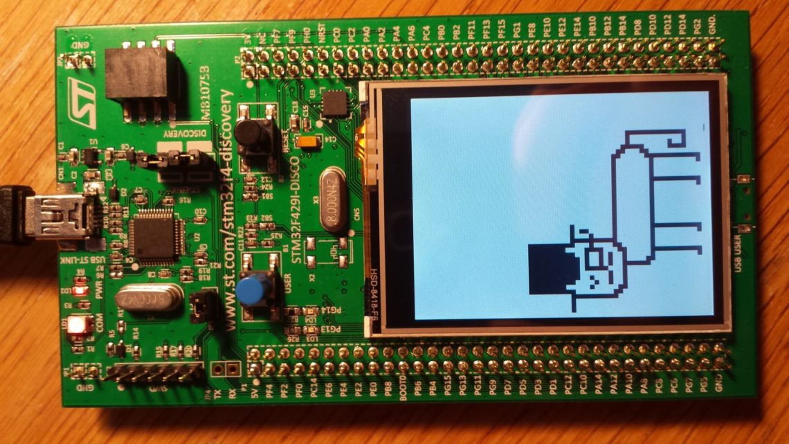 Get the STM32F429 Discovery board running on Mac OSX